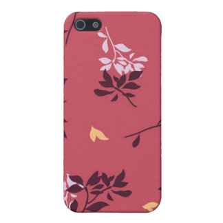 Small Leaves Speck Case Cover For iPhone 5