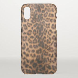 Small leopard print iPhone x case