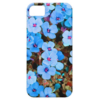 Small Lite Blue Flowers Case For The iPhone 5