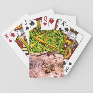 Small Lizard Playing Cards