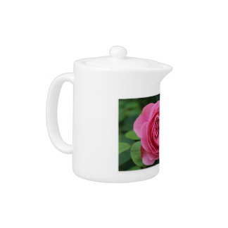 Small Macro Rose Teapot