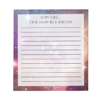Small Magellanic Cloud Notepad