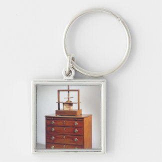 Small Mahogany chest of drawers by Sheraton Keychain