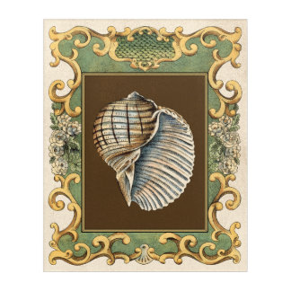 Small Mermaid's Shells Acrylic Wall Art