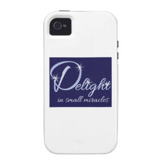 Small Miracles Case-Mate iPhone 4 Cover
