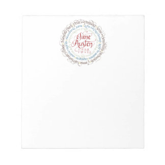 Small Notepad - Jane Austen Period Dramas