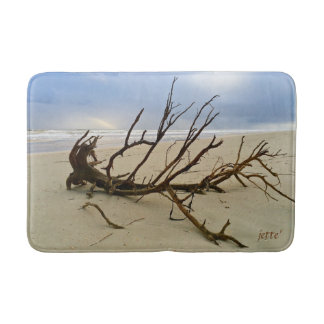 Small or Medium Beach Driftwood Bathmat