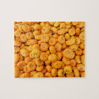Small Orange Harvest Pumpkins Jigsaw Puzzle