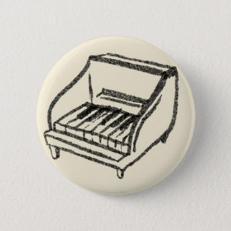 small piano 2 inch round button