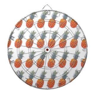 Small Pineapple Print Dartboard