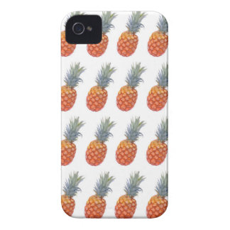 Small Pineapple Print iPhone 4 Cases