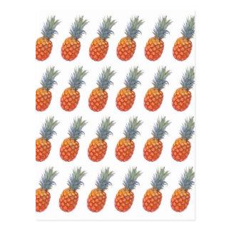 Small Pineapple Print Postcard