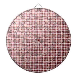 Small Pink Squares Dartboard