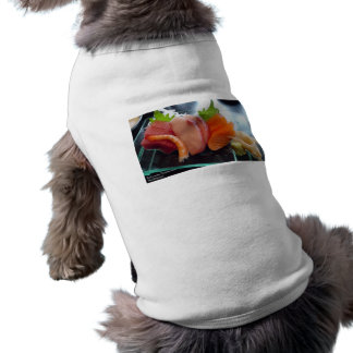 Small Plate Shrimp Tuna Sushi Gifts Tees Cards Etc Dog Clothes