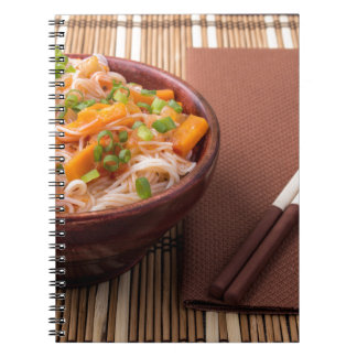 Small portion of rice vermicelli hu-teu notebooks