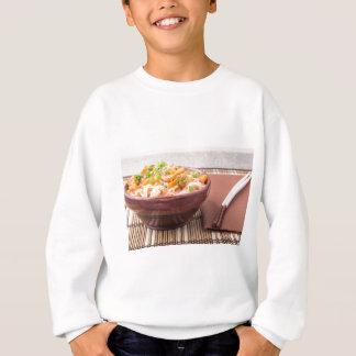 Small portion of rice vermicelli hu-teu sweatshirt