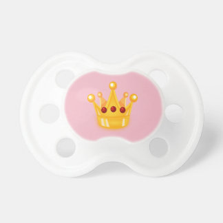 Small princess pacifier