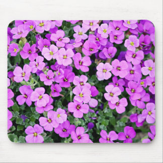Small Purple Flowers Mouse Pad