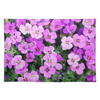 Small Purple Flowers Placemat
