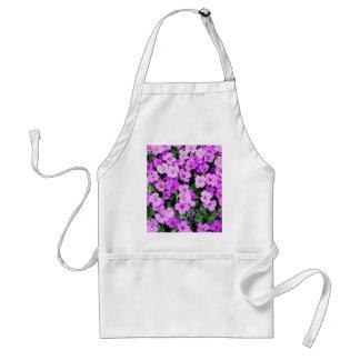 Small Purple Flowers Standard Apron