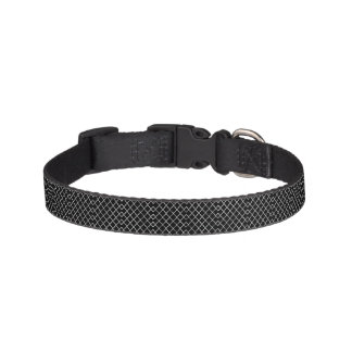 Small Quatrefoil Pattern Dog Collar