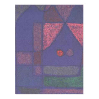 Small room in Venice by Paul Klee Postcard