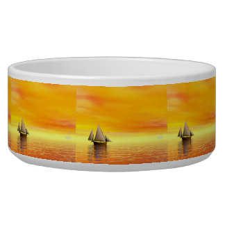 Small sailboat - 3D render