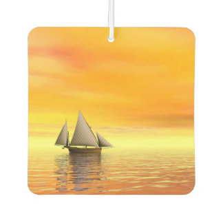 Small sailboat - 3D render Air Freshener