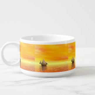 Small sailboat - 3D render Bowl