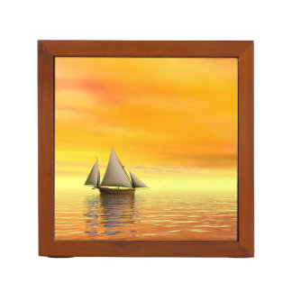 Small sailboat - 3D render Desk Organizer