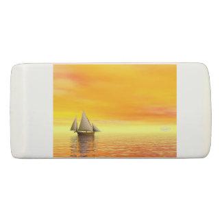Small sailboat - 3D render Eraser