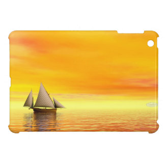 Small sailboat - 3D render iPad Mini Covers