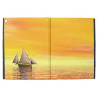 """Small sailboat - 3D render iPad Pro 12.9"""" Case"""