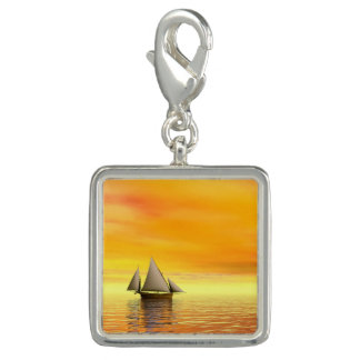 Small sailboat - 3D render Photo Charms