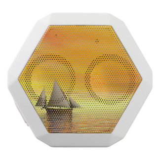 Small sailboat - 3D render White Bluetooth Speaker