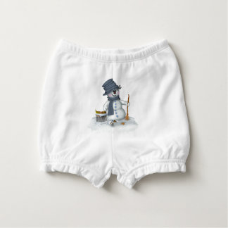 Small Schneemann clears up Diaper Cover