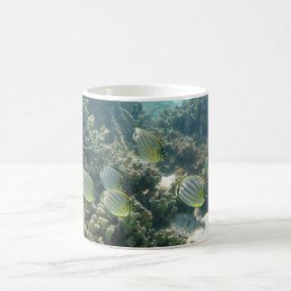 Small School of Butterfly Fish Coffee Mug