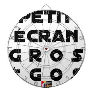 Small screen, LARGE EGOS - Word games Dartboard