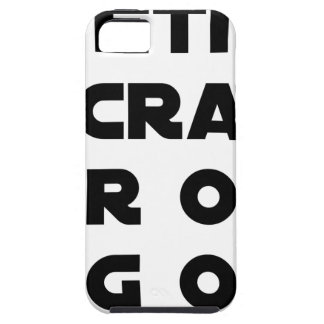 Small screen, LARGE EGOS - Word games iPhone 5 Case