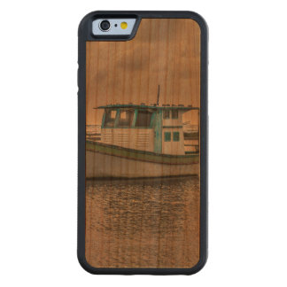 Small Ship at Ocean Porto Galinhas Brazil Carved Cherry iPhone 6 Bumper Case