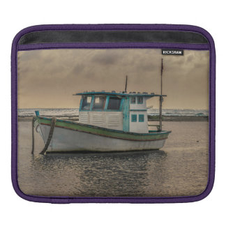 Small Ship at Ocean Porto Galinhas Brazil iPad Sleeve