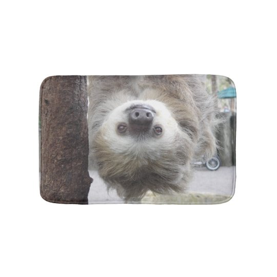 Small Sloth Bathmat