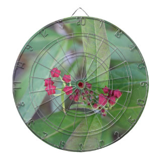 Small Spring Blooms Dartboard