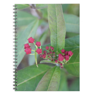Small Spring Blooms Spiral Notebook