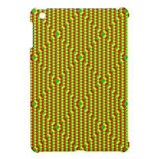 Small Squares Rasta Pattern Cover For The iPad Mini
