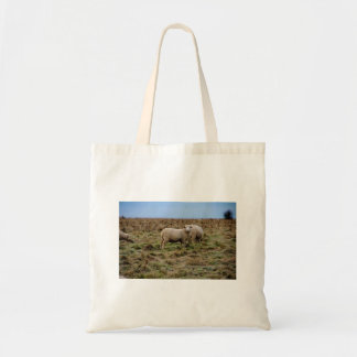 small stonehenge sheep tote bag