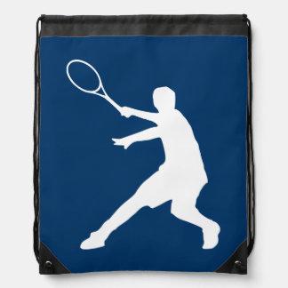 Small tennis player bag | drawstring backpack