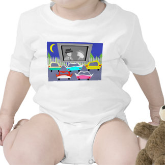 Small Town Drive-In Movie Baby Creeper