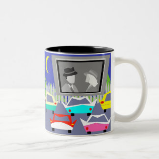 Small Town Drive-In Movie Coffee Mug