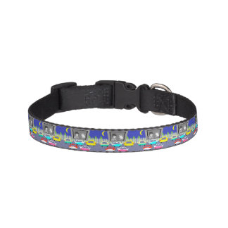 Small Town Drive-In Movie Dog Collar